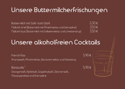 Alkoholfreie Erfrischungen