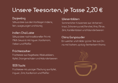 Teesorten I